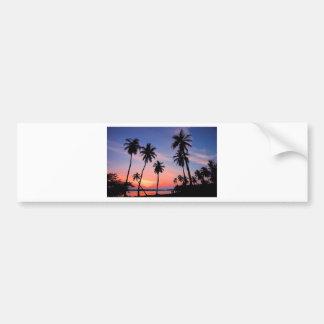Sri Lanka Sunset Bumper Sticker