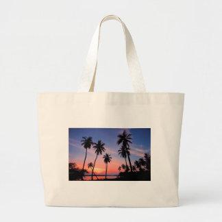 Sri Lanka Sunset Large Tote Bag