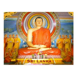 Sri Lanka Vintage Travel Tourism Add Postcard
