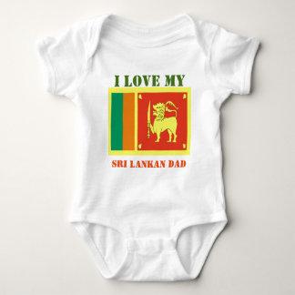 sri lankan dad baby bodysuit