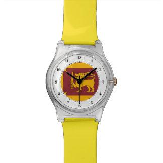 Sri Lankan flag Wristwatches