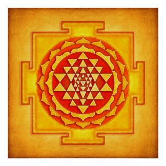 Sri Yantra - Artwork IV Poster