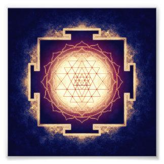 Sri Yantra - Artwork IX Photo Print