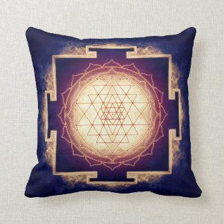 Sri Yantra - Artwork IX Throw Pillow
