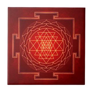 Sri Yantra - Artwork X Tile