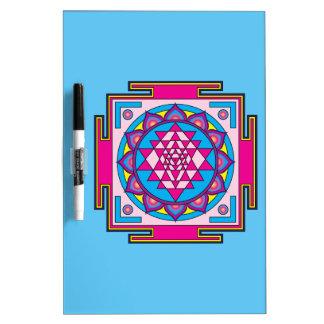 Sri Yantra Mandala Dry Erase Board
