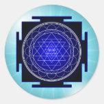 sri yantra stickers