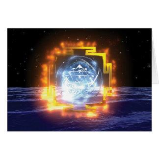 SriYantra Mandala card