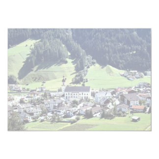 "Srubairal village, Neustift, Tyrol, Austria in Eur 5"" X 7"" Invitation Card"