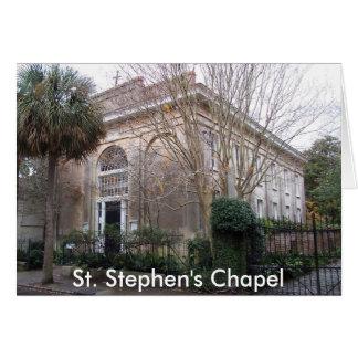 ss2, St. Stephen's Chapel Card