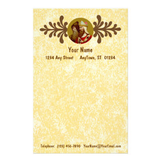 "SS. Cyril & Methodius (M 001) 5.5""x8.5"" Vert #1a Customised Stationery"
