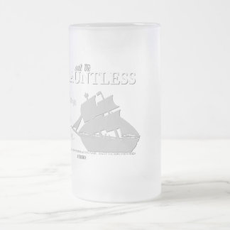 SS Dauntless Frosted Glass Beer Mug