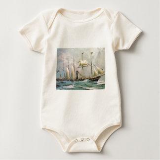 SS Great Britain 1845 Baby Bodysuit