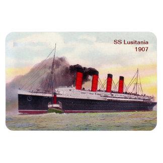 SS Lusitania 1907 Magnet