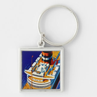 SS Nieuw Amsterdam Keychain