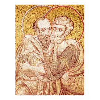 SS. Peter and Paul Embracing Postcard
