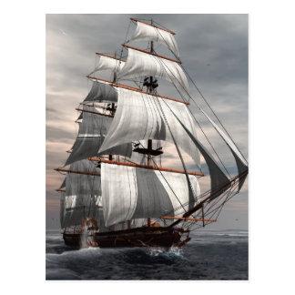SS Savannah Post Card