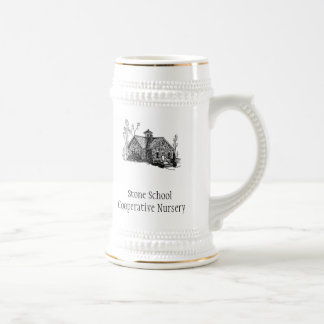 SSCN stein with logo and name Beer Steins