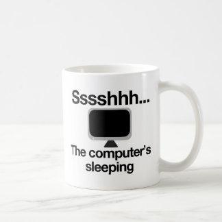 Ssh... The computer's sleeping Mug