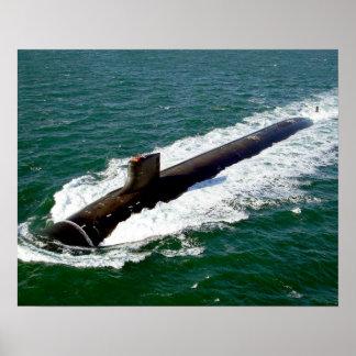 SSN 23 USS Jimmy Carter Poster