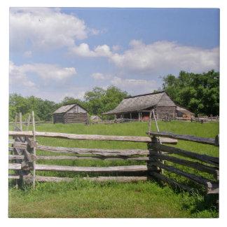 Ssplit Rail Fence and Old Barn Tile