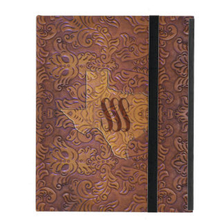 SSS Texas Tooled Leather iPad Cover
