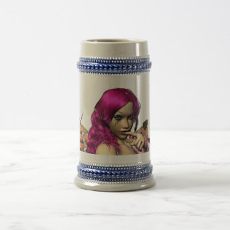 Ssshh~ Butterfly products Beer Stein