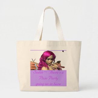 Ssshh~ Butterfly products Jumbo Tote Bag