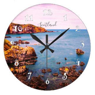 St Abbs in Scotland, beautiful wall clock