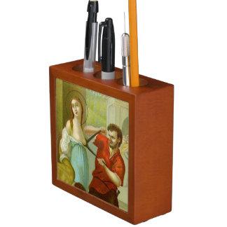 St. Agatha (M 003) Detail/Full Scene or vice versa Desk Organiser