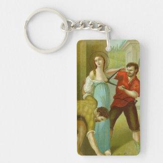 St. Agatha (M 003) Key Ring