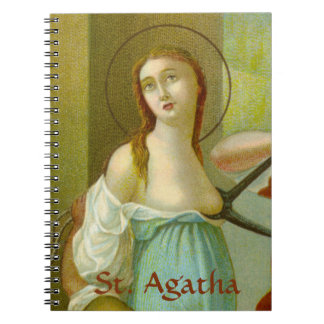 St. Agatha (M 003) (Style #1) Notebook