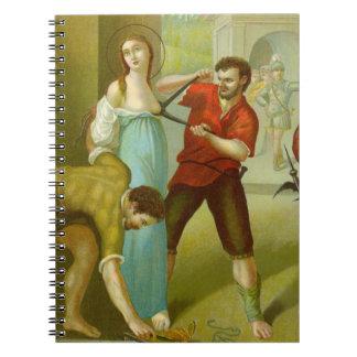 St. Agatha (M 003) (Style #2) Notebooks