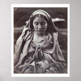 St. Agnes (albumen print) Poster
