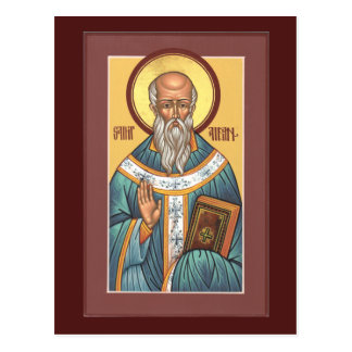St. Aidan of Lindisfarne Prayer Card Postcard
