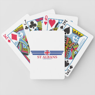 St Albans Bicycle Playing Cards