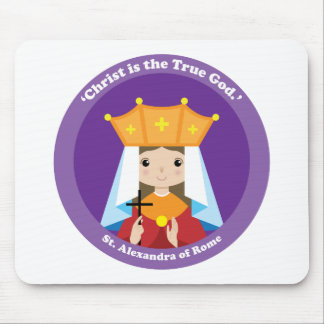 St. Alexandra of Rome Mouse Pad