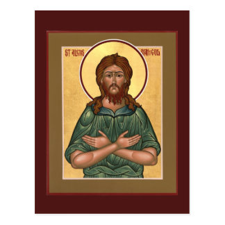 St. Alexis Man of God Prayer Card