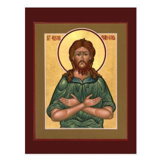 St. Alexis Man of God Prayer Card Postcard