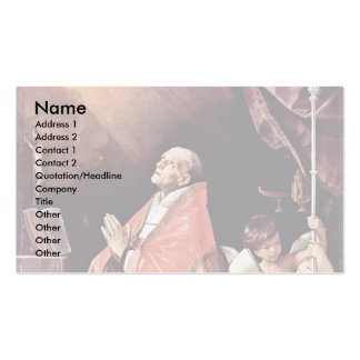 St Andrew Corsini In Prayer By Reni Guido Business Cards