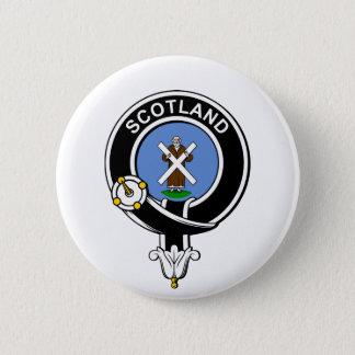 St. Andrew Crest 6 Cm Round Badge