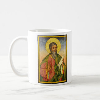 St. Andrew the Apostle by Yoan From Gabrovo Coffee Mug