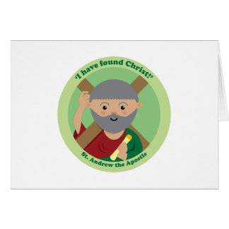St. Andrew the Apostle Card
