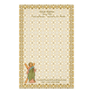 St. Andrew the Apostle (RLS 01) (Style 2, Sheet A) Stationery