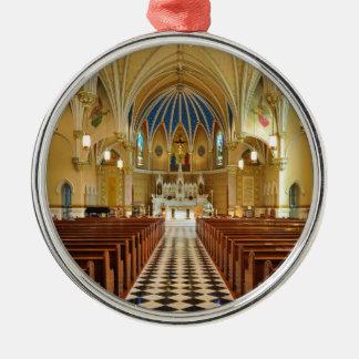 St Andrew's Catholic Church Roanoke Virginia Metal Ornament