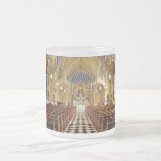 St Andrew's Catholic Church Roanoke Virginia Frosted Glass Mug