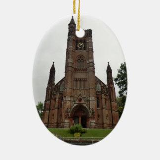 St Andrew's Church, Moffat Ceramic Oval Decoration