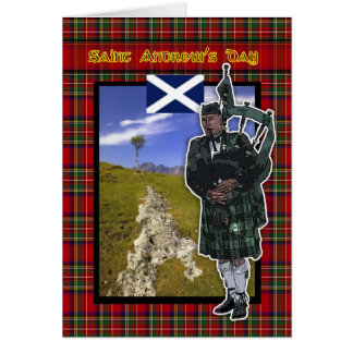 St. Andrew's Day, Saint Andrew's Day card