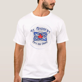 St Andrews Pipes and Drums band t-shirt