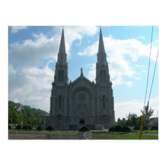 St. Anne Church  Quebec Postcard